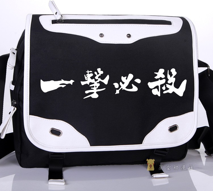 One Punch Man Anime One OPPAI Saitama Cosplay Oxford School Bag Unisex Messenger Bags Free Shipping