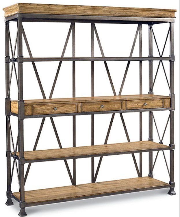 Plateau continental racks fer forg meuble d 39 angle en for Meuble d angle fer forge