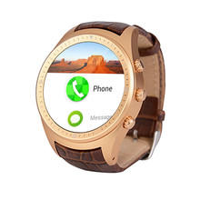 1.4 inch Round Android Smart Watch K18 Android 4.4 sport men wristwatch SIM Card GPS Anti-Lost WCDMA WIFI Bluetooth 4.0