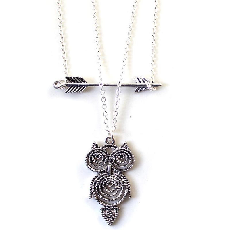 2015 vintage origami owl pendants necklace owl sweater