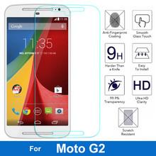 0.26MM 9H Anti-scratch Premium Tempered Glass Film Screen Protector For Motorola Moto G2 G 2nd MOTOG2 XT1068 XT1069