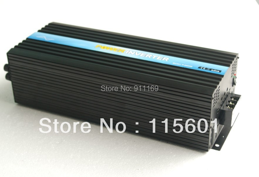 Suppliers Direct Selling 6kw DC24v to AC220v Solar Power Converter dc ac One Year Warranty(China (Mainland))
