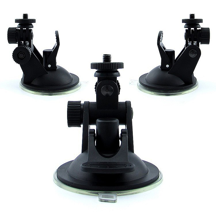 2016 New Arrive Car Holder for Sport DV Sport Camera SJ4000 Driving Recorder Suction Cup Bracket Window Mount GPS DVR Holders