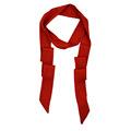 150*10CM Chiffon Winter Decorative Floral Women Small Ribbon Scarf Plaid Fold Long Narrow Scarves Hair Band Women Twilly S6