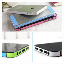 For iPhone 4 4s 5 5s Leather Side Edge Back Cover Colorful Deco Mobile Phone Anti-scratch Skin Sticker For Apple iPhone4 4s 5 5s(China (Mainland))