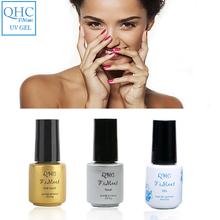 QHC FiMeet Gel Nail Polish UV Gel Color Lacquer Easy Clean Cured UV LED Soak Off Vernis Semi Permanent 1pcs 60 Colors Nail Polis(China (Mainland))
