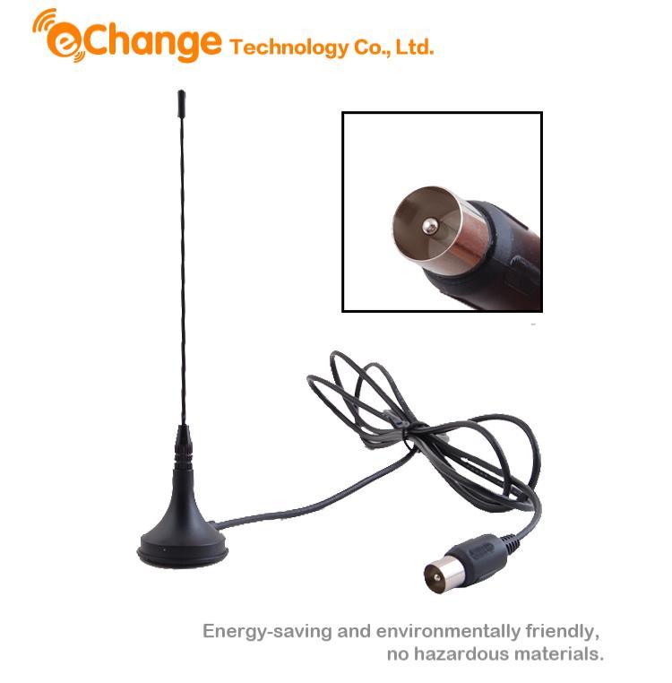 10pcs/lot 5dBi Digital DVB-T TV Freeview HDTV Antenna Aerial amplifier antena tv indoor hdtv antennas EL0341(China (Mainland))
