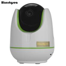 Blueskysea hip304-1.0m wi-fi sem fio 720 p hd rede cctv ip camera baby monitor de webcam de visão noturna duas vias de áudio livre grátis(China (Mainland))