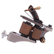 New Cast 10 Wraps Coils Tattoo Machine Liner Shader Gun Supplies Free Shipping(China (Mainland))