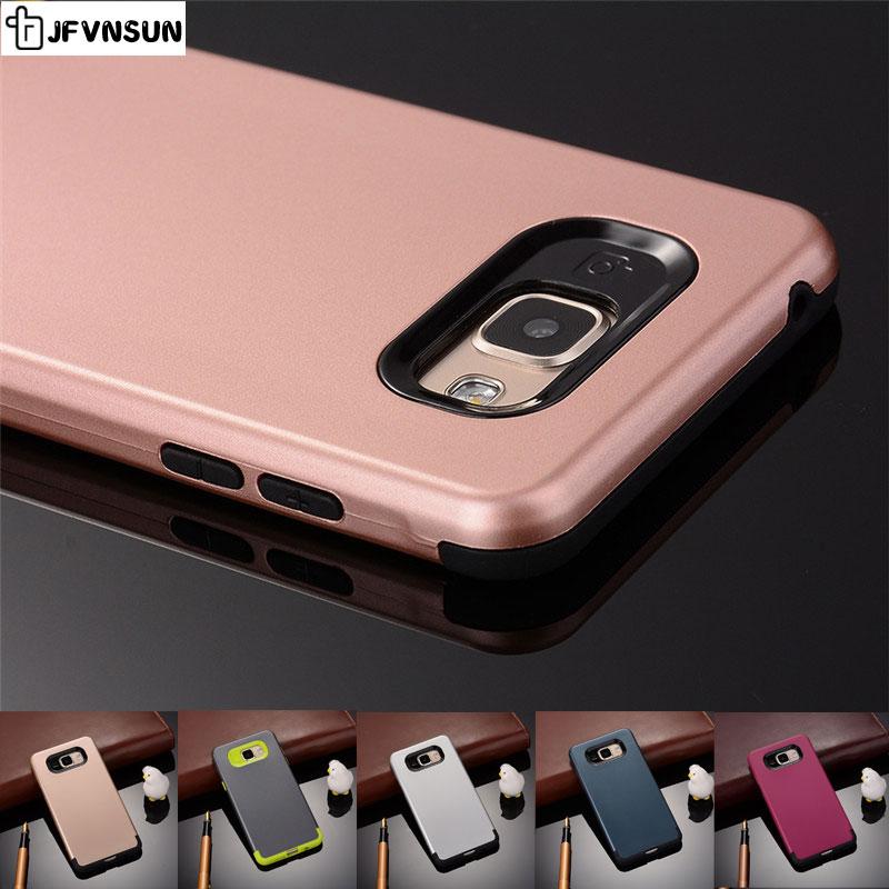 Samsung A3 A7 A5 2016 Case SAMSUNG Galaxy A5 2016 A510 A310 Dual Layer protect Candy Colors PC Gel Silicon Cover Fundas