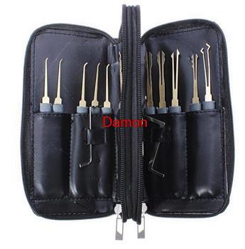 Противопожарные и Охранные товары 24pcs Single Hook Locksmith Tools Lock Pick Kit Set 24pcs 4 x +