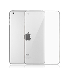 Soft TPU Skin Silicon Back Case Cover Silk Slim Clear Transparent Case for Apple iPad Mini 123/Air 1/Air 2/iPad 234/iPad Pro 9.7(China (Mainland))