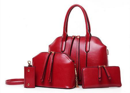 The latest retro fashion leather handbag bag child and her daughter buy wholesale manufacturers Gains 4(China (Mainland))