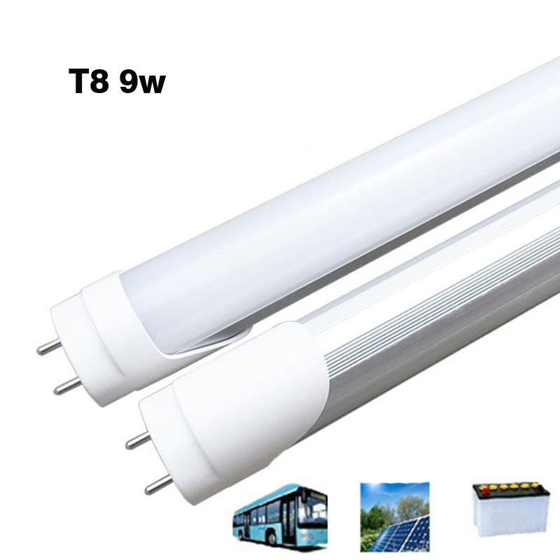 4pcs T8 2FT LED tube light 9w SMD 2835 AC110-277V tube lamp Fluorescent tube bulb living room bed room 604/594mm <br><br>Aliexpress