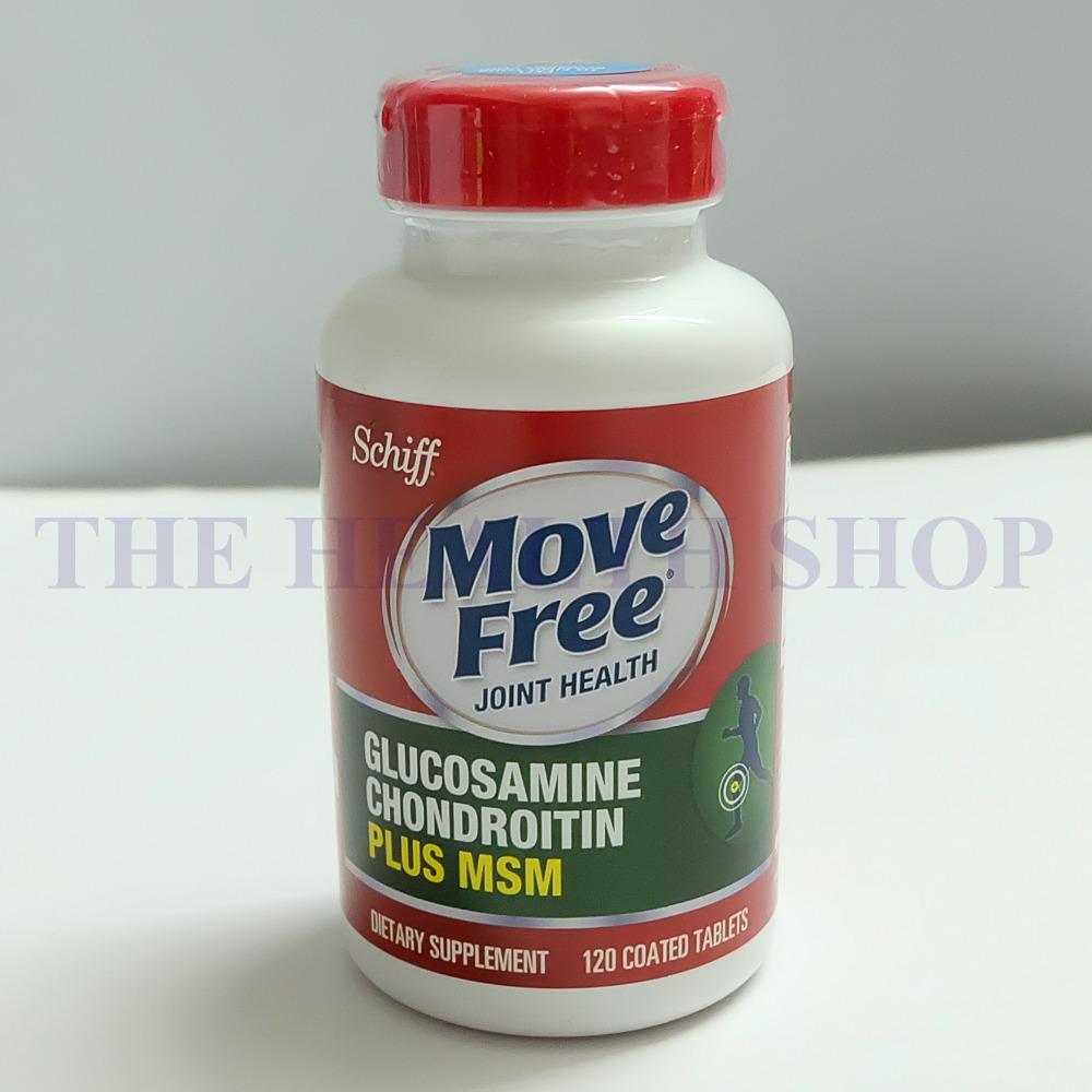 Schiff Move Free Joint Health, Glucosamine Chondroitin Advanced Plus MSM, Dietary Supplement, 1500 mg, 120 Countlucosamine(China (Mainland))
