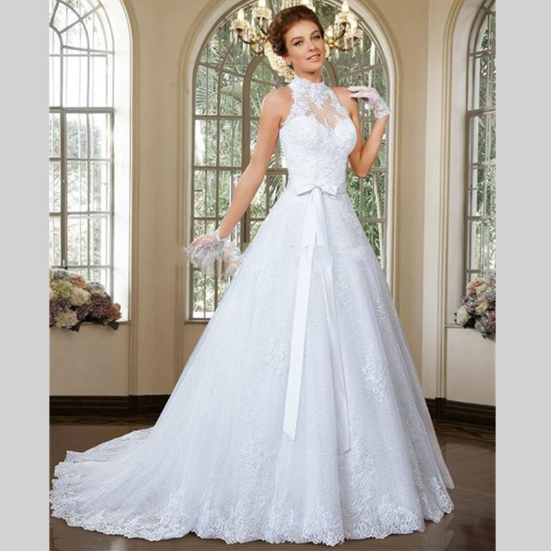 Buy 2015 enchanting halter detachable for Online wedding dress stores