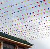 40M Party Flags/Huge Birthday Parties/Market Stalls Xmas Rainbow Bunting New(China (Mainland))