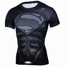 3D Зимний Солдат футболка Капитан Америка 3 Для мужчин Сжатие Фитнес Топ для кроссфита Хэллоуин футболка Superman 2017 zootop bear(China)
