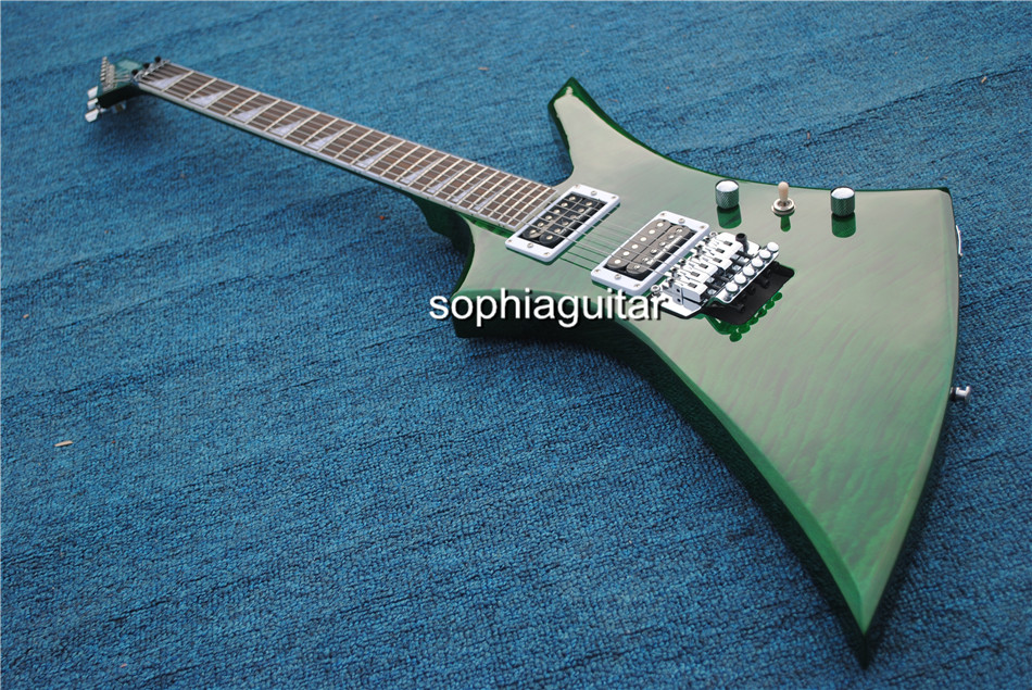Free shipping high quality Jackson KE2 Kelly green guitar custom shop jack electric guitar with gold parts! -1312-21<br><br>Aliexpress