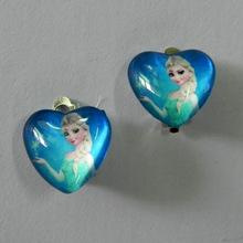 Livraison gratuite de haute qualité princesse filles femmes clip - on boucles d'oreilles sans percer clip pas percé boucles d'oreilles clips(China (Mainland))
