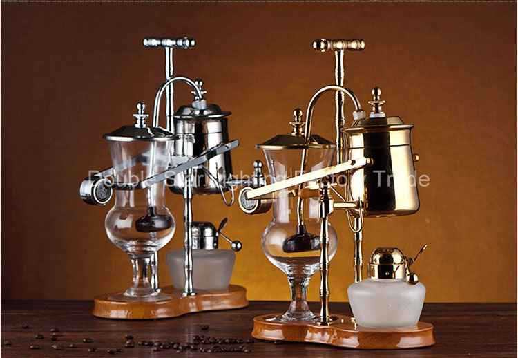 Belgium Royal Coffee Maker --Golden 450cc (Vacuum Syphon Coffee Maker )(China (Mainland))