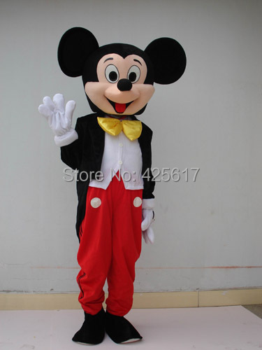 Hot selling!New handsome micky tailcoat mouse Cartoon Fancy Dress Suit Outfit Animal Mascot Costume - Sam's World store