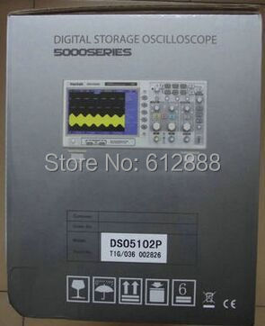 Free Shipping Hantek Dso5102p Digital Storage Oscilloscope 100mhz 2channels 1gsa s 7 Tft Lcd Better Than