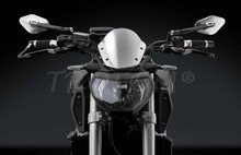 Motorcycle side mirror Aluminium CNC rearview For Rizoma ELISSE Harley Davidson Honda Shadow 600 Goldwing Gl1800 Yamaha Virago(China (Mainland))