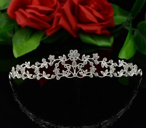 2016 Newest bridal tiara crowns fashion wedding brides hair accessories vintage bridal crowns headbands 1pcs(China (Mainland))