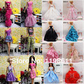 Christmas gift original princess doll Doll body+head+clothes girls gift ,1pcs doll with clothes, doll accessories for barbie