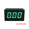 Mini Digital Ammeter Current Ampere Panel Guage DC 0 10A 4 5 28V Power Supply Three