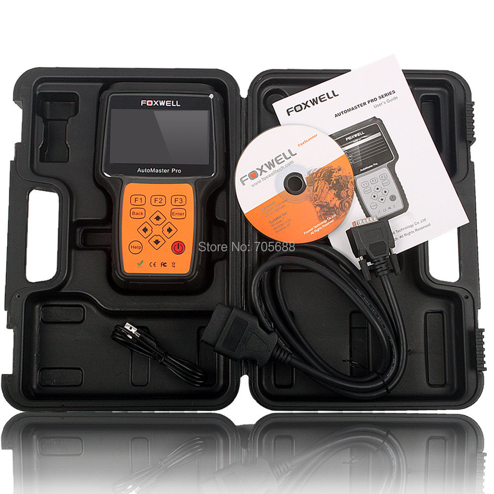 Foxwell NT643 AutoMaster Pro FR&IT-Make All System EPB Oil Service Scanner Automotive Professional Car Diagnostic Tool Universal(Hong Kong)