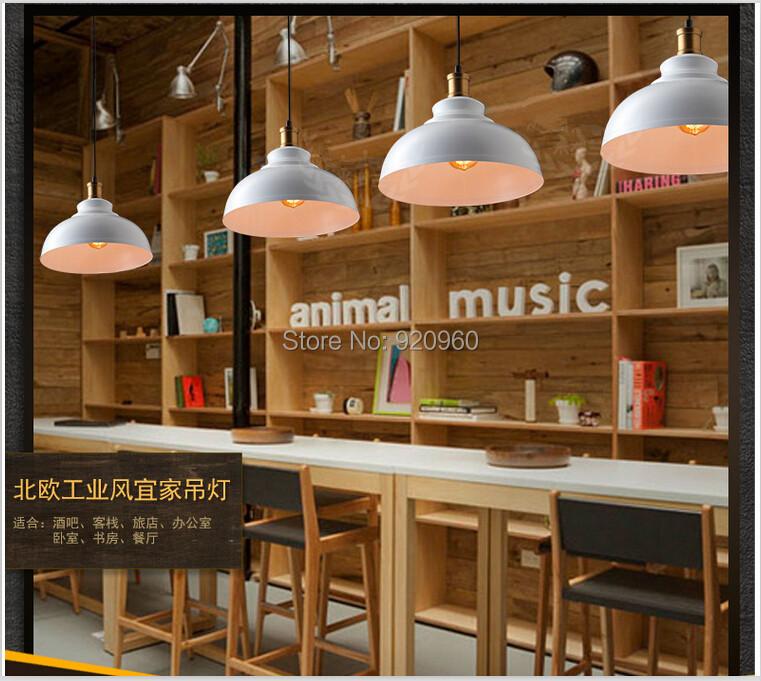 R tro restaurant lustre loft nordic olien industriel ikea lustres cafe bar - Lustre industriel ikea ...