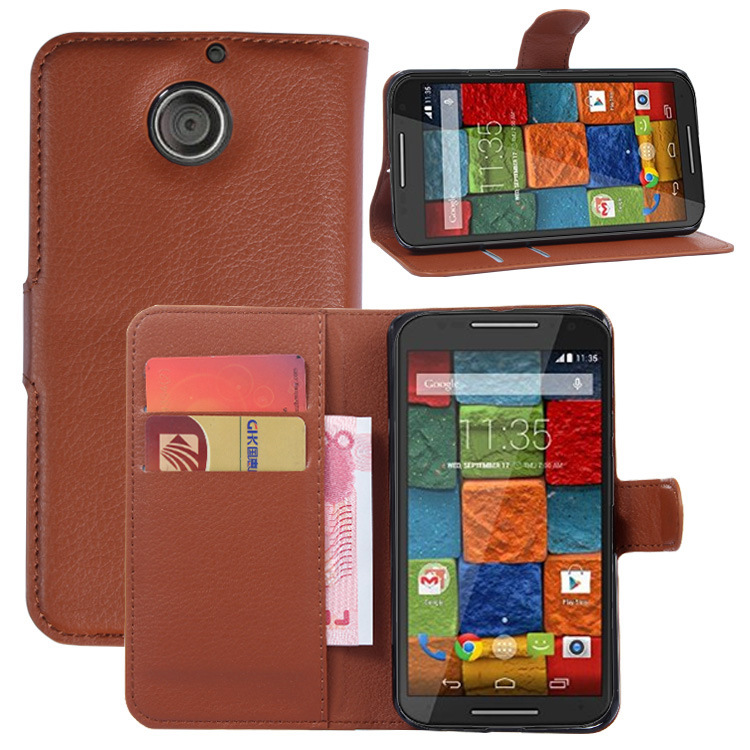 """For Motorola moto x+1 x2 victare xt1097 5.2"""" pu leather phone bags cover flip case With card holder +stand function wallet pouch(China (Mainland))"""