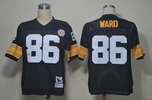 Pittsburgh Steelers,Rocky Bleier Rod Woodson Mel Blount Jack Ham Dermontti Dawson Kelvin Beachum Joe Greene hines ward Throwback(China (Mainland))