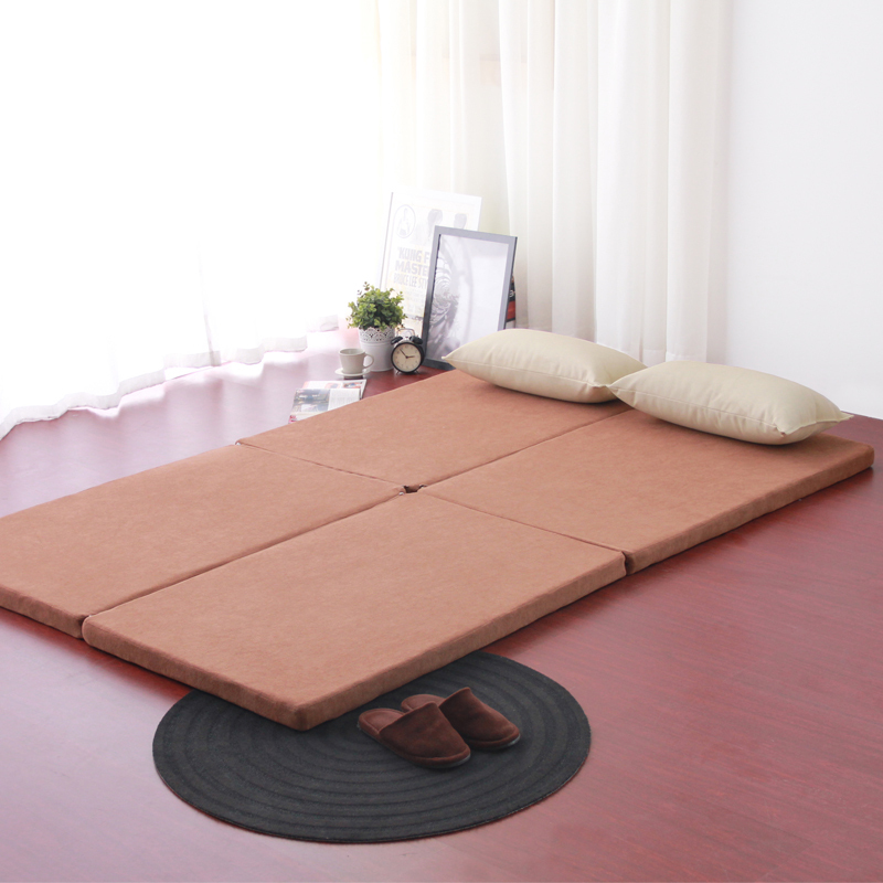 Foreign Specials Tatami Mat Portable Folding Mattress Washable Beanbag  Double Bed Mattress