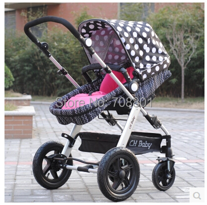 CHbaby Inflatable wheel baby stroller carriage pram super suspension portablity freeshipping(China (Mainland))