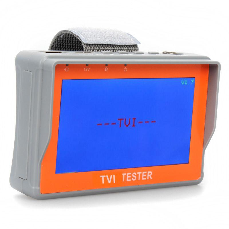"Free Shipping!Portable Wrist 4.3"" 1080P TVI CCTV Camera Cam Video Test Monitor Tester 12V-Out(China (Mainland))"