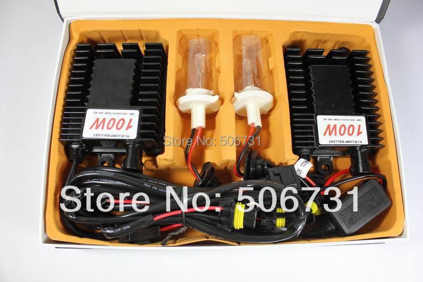 100W Xenon HID 4300K-8000k H11 6000k  100w hid xenon conversion kits  1set  DHL EMS free shipping<br><br>Aliexpress