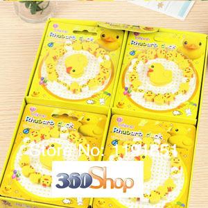 360SHOP  Free shipping 12set/lot Cute lovely eraser  yellow duck  Eraser set  children like gifts Stationery  School Supplies<br><br>Aliexpress
