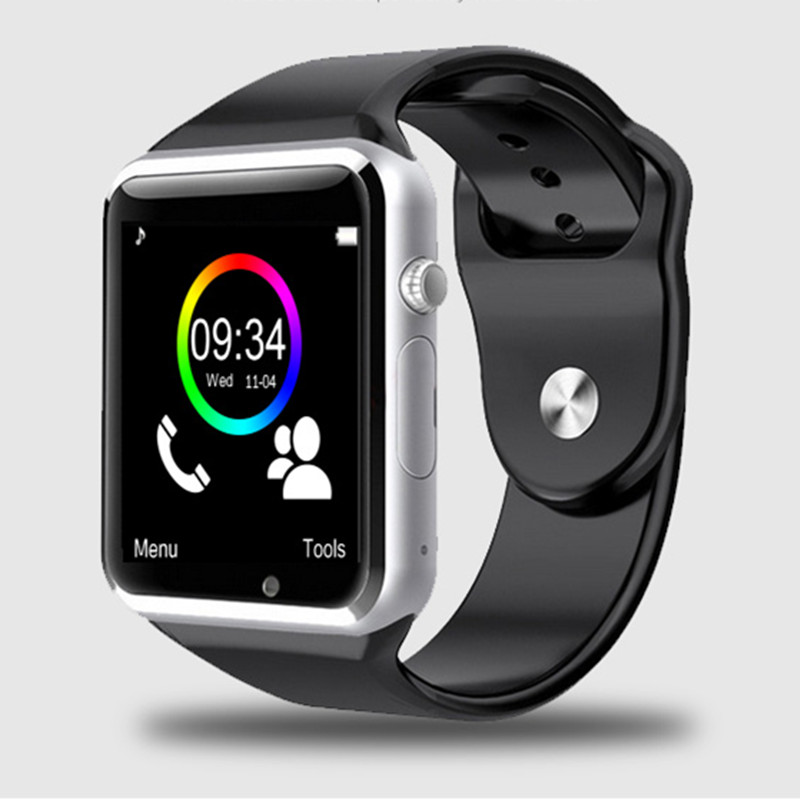 free shipping WristWatch Bluetooth Smart Watch Sport Pedometer With SIM Camera Smartwatch For Android Smartphone Russia T50(China (Mainland))