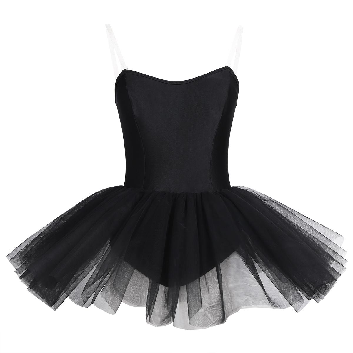 CHICTRY Kids Girls 2-Piece Flower Applique Tutu Skirt Top Set for Gymnastics Ballet Dancing or Swimming