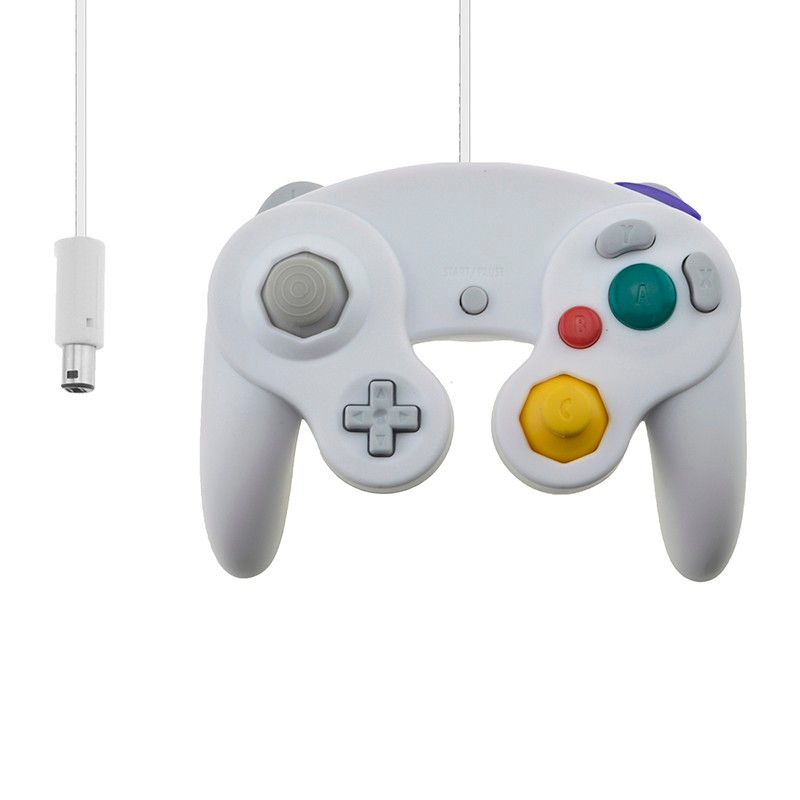 Wired Controller for Nintendo Gamecube Gamepad For NGC Controller with USB or GC Port For PC For MAC For Wii Computer