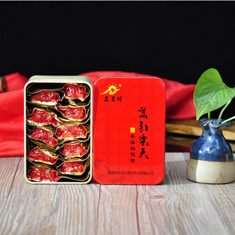 Small Packing Wild Chinese Tea Fujian Oolong Tea 83g Tie Guan Yin Loose Can Packing Tikuanyin, TG-JXM(China (Mainland))