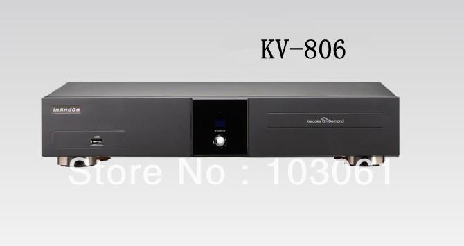 INANDON new karaoke player KV-806 with 6TB HDD for free shipping(China (Mainland))