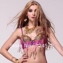 dancing wear beads bra