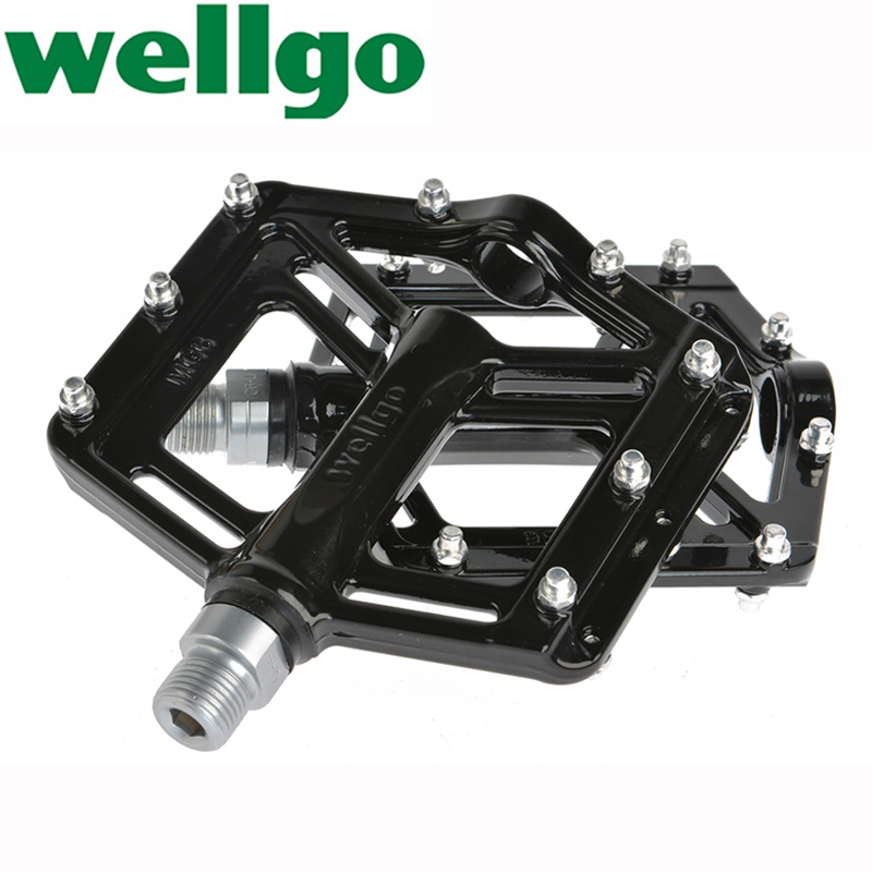 WELLGO MG6 MG 6 MG-6 Bike Pedals MTB BMX DH Magnesium Pedals Sealed Bearing cycling pedals for bicycle pedale flat , 7 colors<br><br>Aliexpress
