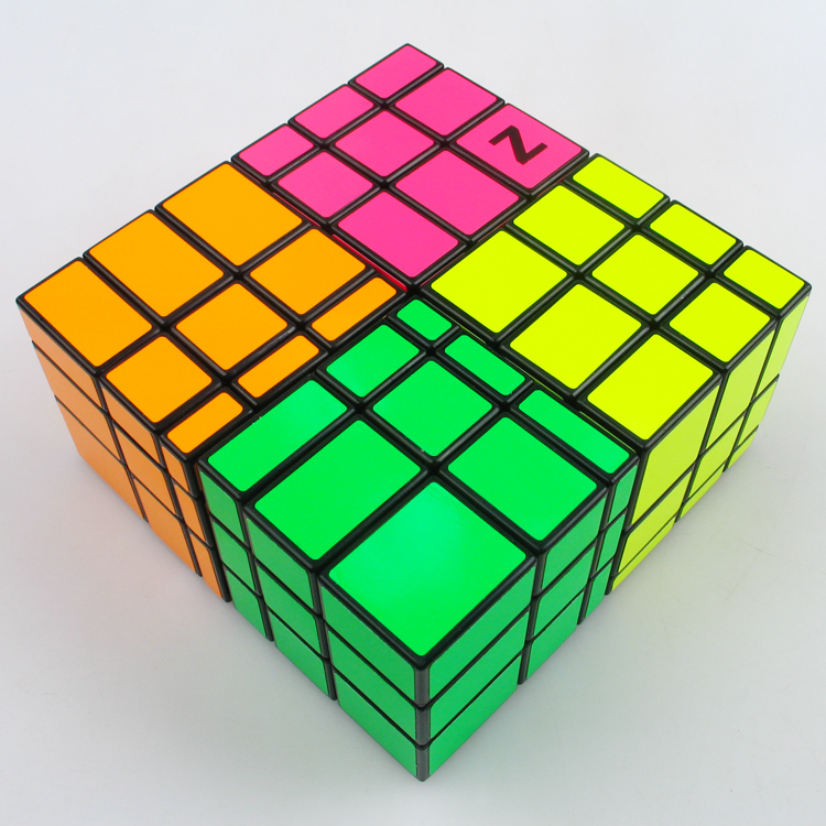 [Speed Demon Cube Store] New Box Z - CUBE Mirror Cube toys magic Cube Puzzle SS ShengShou(China (Mainland))