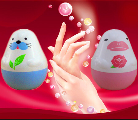 whitening anti-aging anti-chapping sea dog rose penguin  hand cream 2 pieces 1 lot (China (Mainland))