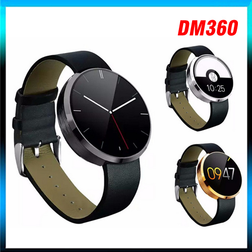 2015 New Arrive DM360 smart watch Heartrate monitor IPS screen with heart rate fitness tracker Ios and Android all compatible<br><br>Aliexpress